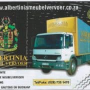 Albertinia Meubelvervoer Albertinia Furniture Removals country wide