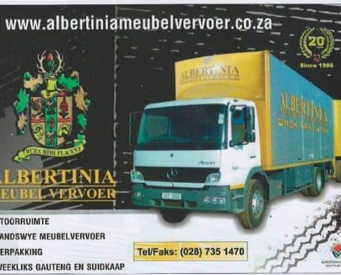 Albertinia Meubelvervoer Albertinia Furniture Removals country wide