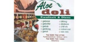 Aloe Slaghuis en Deli, Butchery and Deli in Albertinia and in Stilbaai