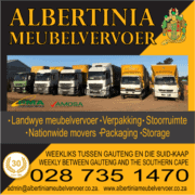 Albertinia Meubelvervoer - Furniture Removals