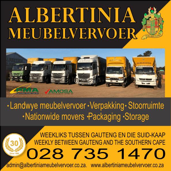Albertinia Meubelvervoer - Furniture Removals