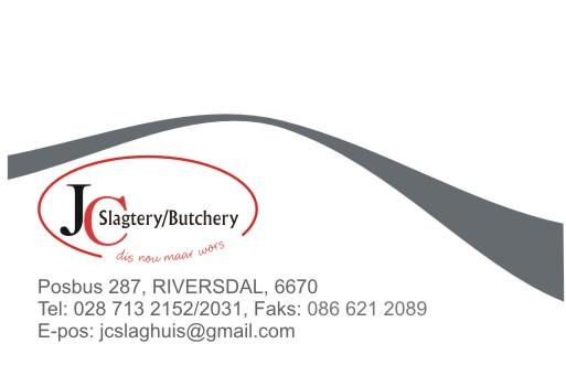 JC Slagtery / Butchery