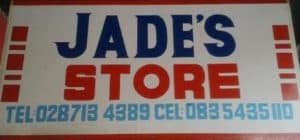 Jade's Store General store, Clothes, Toys, Cellphone acc, Radios & DvD's, Shoes