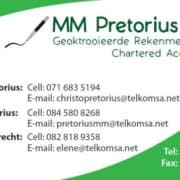 M M Pretorius & Kie Chartered Accountants