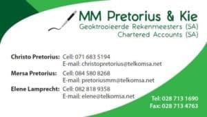 M M Pretorius & Kie Chartered Accountants