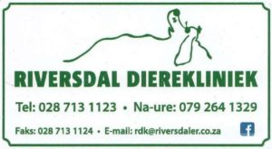 Riversdale Animal Clinic / Riversdal Dierekliniek