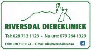Riversdale Animal Clinic / Riversdal Dierekliniek