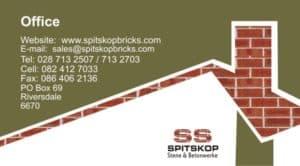 Spitskop Bricks & Concrete Products
