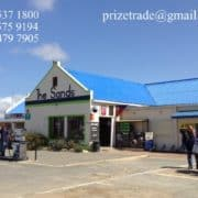 Top up petrol Station or Garage for gas, oil, diesel, petrol & ATM machine, restrooms shop & Liquor store in Witsand