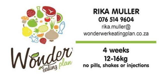 Wonderwerk Eating Plan