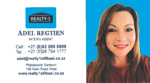 Adel Regtien Realty 1 Stilbaai