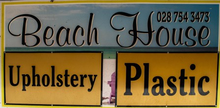 Beach House Upholstery Logo Stilbaai