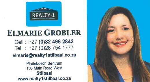 Elmarie Grobler Realty 1 Stilbaai