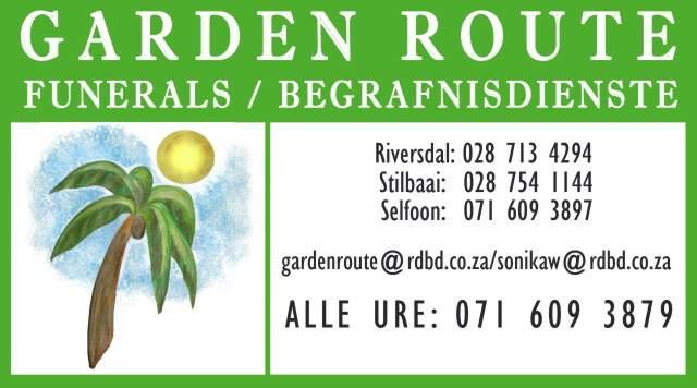 Garden Route Funeral services