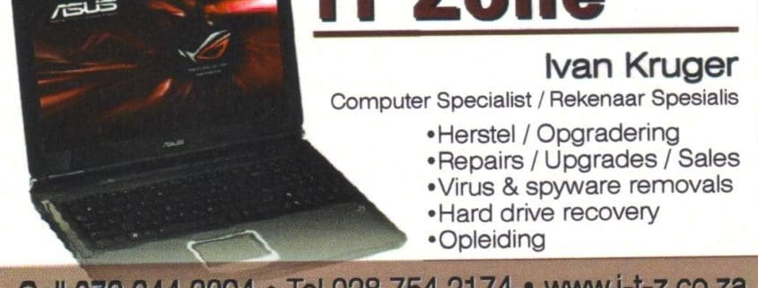 IT Zone Computers and Repairs
