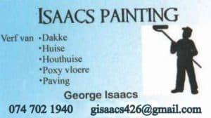 Isaacs Painting, Handyman