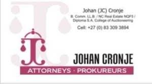 Johan Cronje Prokureurs