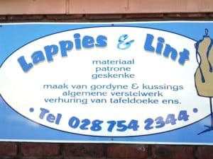 Lappies en Lint Material & Habedashery