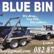 Blue Bin Skips Lomie Saayman