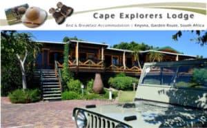 Cape Explorers Lodge Knysna