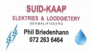 Suid Kaap Elektries & Loodgieters