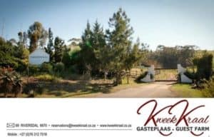Kweekkraal Guest Farm Book Direct and Save