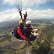 Cloudbase paragliding
