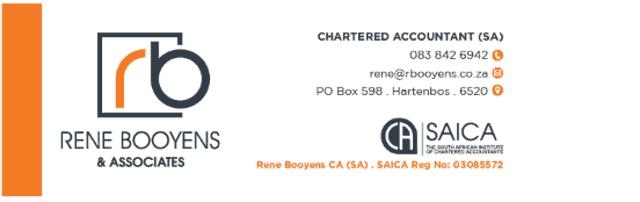 Rene Booyens Chartered Accountant