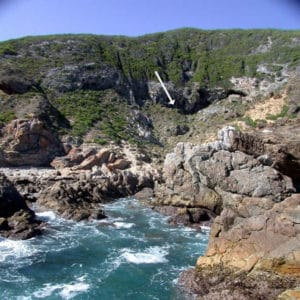 Blombos Cave - Blombos Grotte