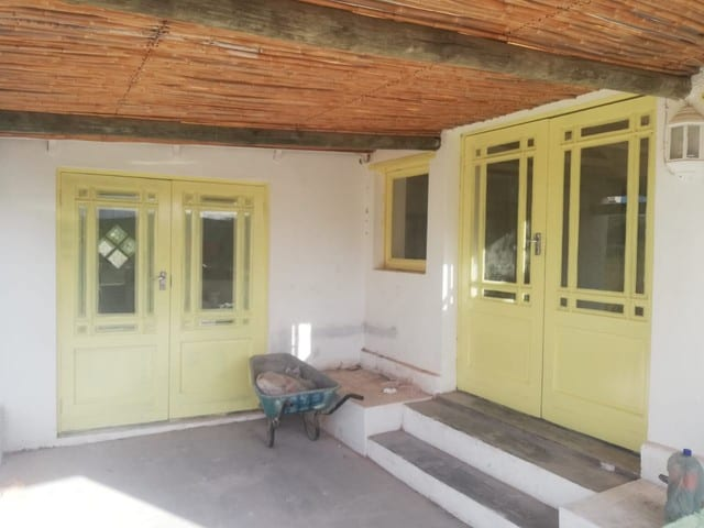 New Yellow doors at Boumag Construction