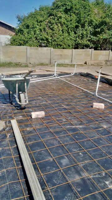 tiling and flooring at Boumag Construction