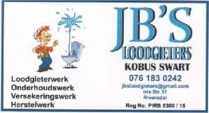 JB'S Loodgieters / Plumbers