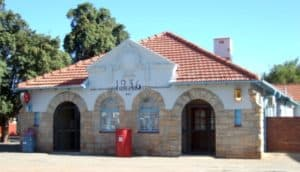 Stone Post Office Building