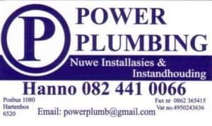 Power Plumbing