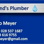 Witsand's Plumber