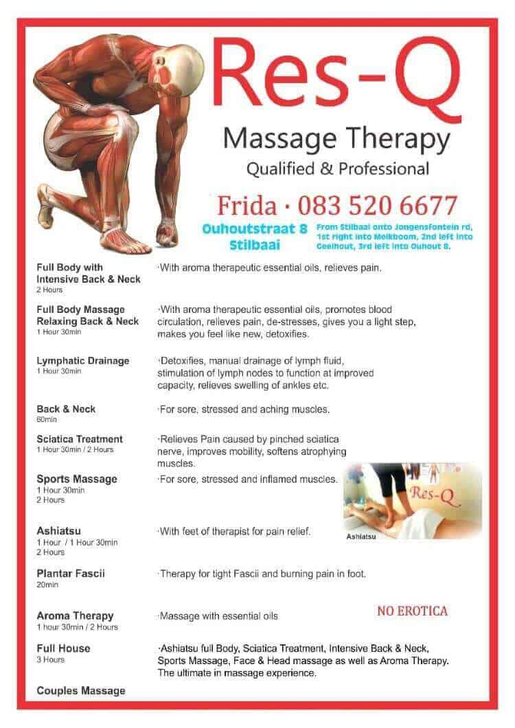 Res Q Massage Therapy
