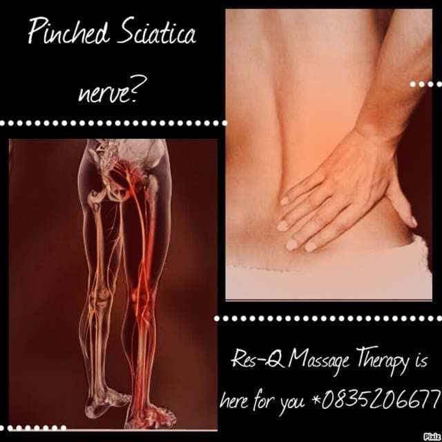 Res Q Massage for a Pinched Sciatia nerve