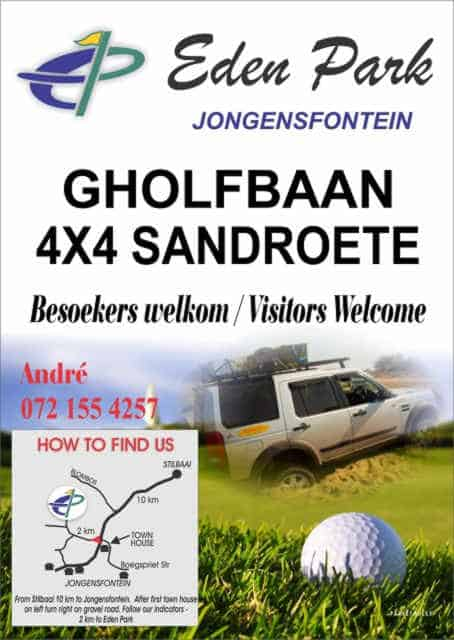 Eden Park Gholfbaan Jongensfontein