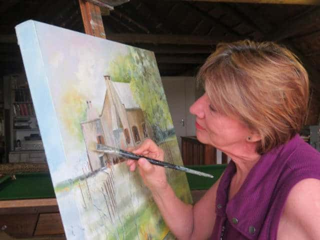 Kunsklasse/Art Classes Ria Holliday GR&KK Arts & Crafts