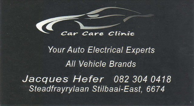 Car Care Clinic Auto Electrical Stilbaai