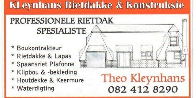 KleynhansThatching & Construction