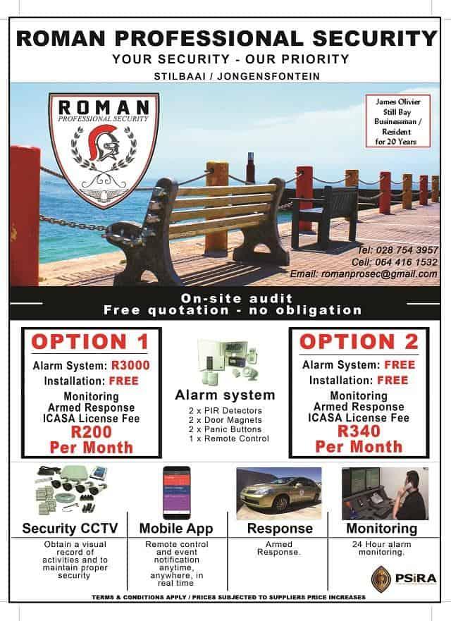 Roman Security Roman Sekuritet Stilbaai