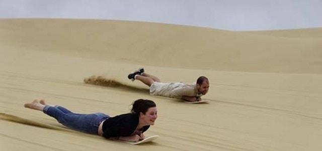 Dragon Dune Sandboarding