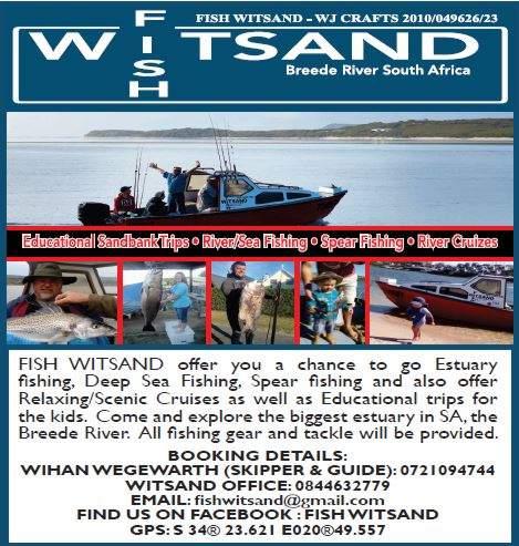 Fish Witsand - Witsand Fishing Charters