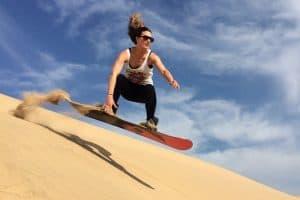 Sandboarding Mossel Bay