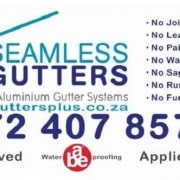 Seamless Gutters Waterproofing Riversdale