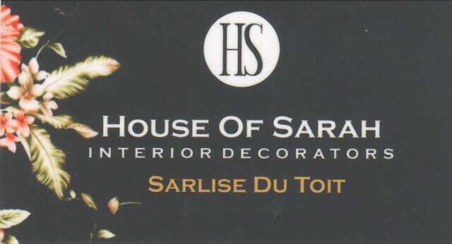 House of Sarah Interior Decorators