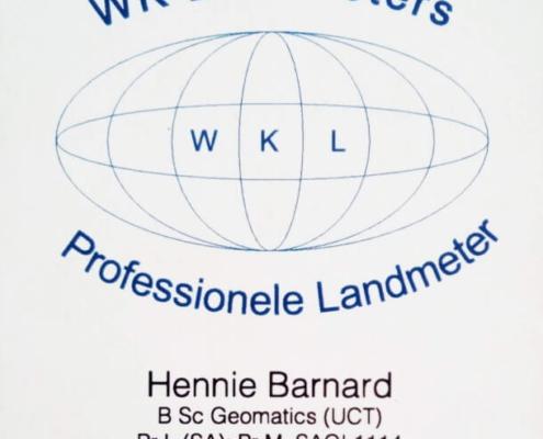 WK Land Surveyors - WK Landmeters