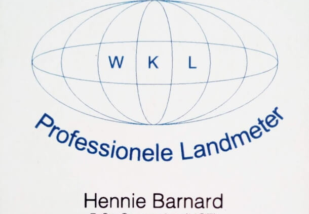 WK Land Surveyors - WK Landmeters