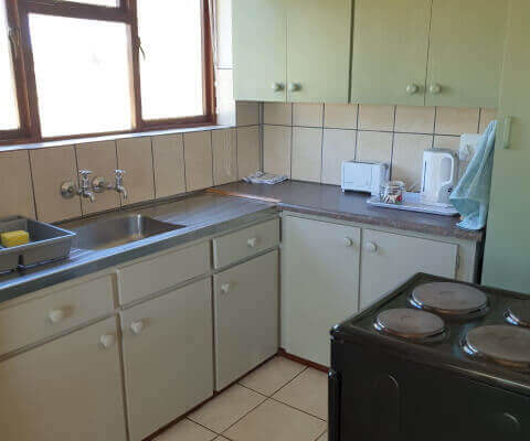 Dibiki Riversdal Self Catering Kitchen